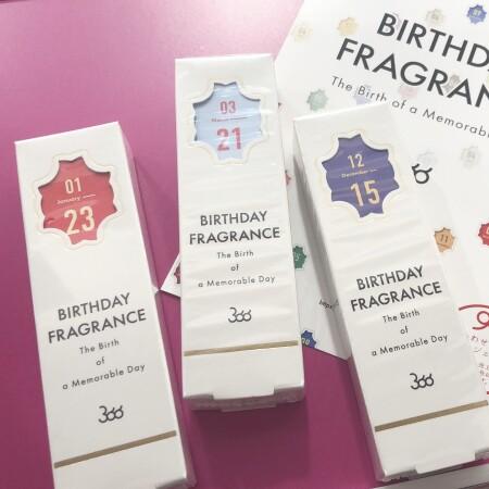 喜ばれること間違いなし🎵366 BIRTHDAY FRAGRANCE♡