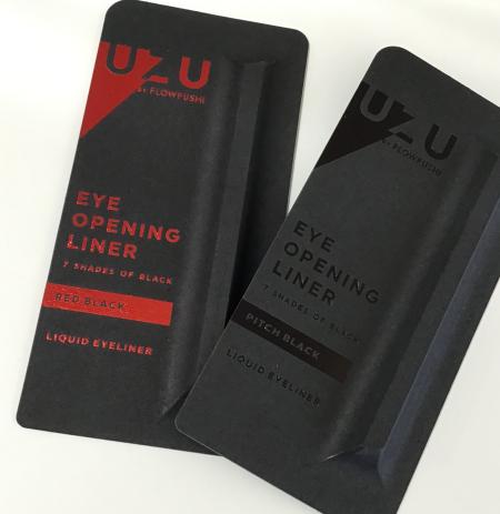 UZUオープニングアイライナーから新しい7色のブラック♥