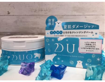 ひんやり夏限定DUO登場~!❄🐻